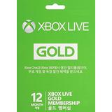 Tarjeta De Microsoft Gold De Xbox Live De 12 Meses