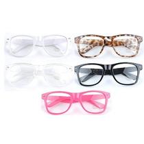 Armação P/ Óculos De Grau. Retangular Grande Geek Nerd Retrô