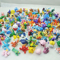 Kit Com 144 Bonecos Miniaturas Pokemon Go Sem Repetidas Novo