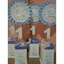 Centros De Mesa Infantiles Primer Añito Pajaritos Varón