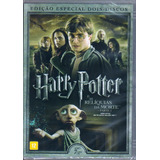 Harry Potter Reliquias Da Morte 1 Orig Dvd Duplo Novo Lacrad