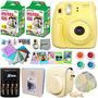 Fujifilm Instax Mini 8 Cámara Amarillo + Kit De Envío Gratis