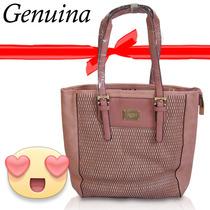 Bolsa Feminina Veryrio Em Couro Rose1368
