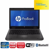 Notebook Hp Probook Core I5 4gb Hd 500gb - Top Lindo