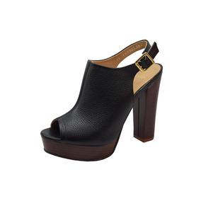 Sandalia Gillio Dubai C/ Tacon 11.5cm Negro Dama Mujer Rudos