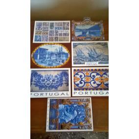 Cartão Postal Temáticos : Azulejaria Portuguesa (7 Cartões)