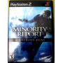 Video Juego Play Station 2 Minoryty Report Original