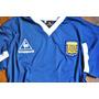 Camiseta Retro Argentina 86 Azul Maradona