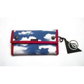 Billetera Para Mujer Volcom Zip Sky #gw1300102