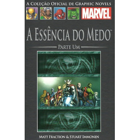 Graphic Novel Marvel N 88 / Lateral 70 A Essência Do Medo