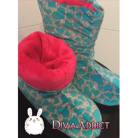 Pantubotas De Diseño - Super Calentitas - Diva Addict