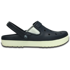 Zapato Crocs Unisex Adulto City Sneaks Slim Azul Marino