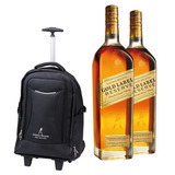 2 Whisky Johnnie Walker Gold Reserve 750 Ml + Troley Bag