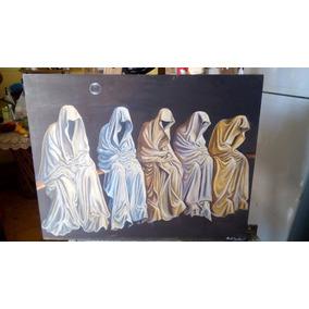 Pintura Al Oleo Sobre Tela La Espera