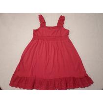 Vestido Fiusha De Tirantes Para Niña Bebe 1 Y 4 Años