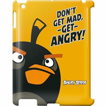 Capa Para Ipad Angry Birds Amarela+smart Cover De Brinde!!!