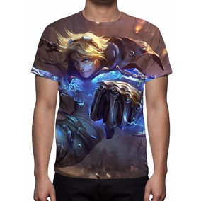 Camisa, Camiseta League Of Legends Ezreal Explorador Pródigo