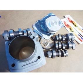 Kit Cg 125 Fan 150 Crf 230cc Cilindro Bros+ Biela C/ Comando
