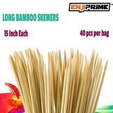 Mejor Melcocha Asar Los Palillos Con 40 Grueso De Bambú Bar