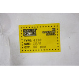 Anzol Marine Sports Mod. 4330 Nº 10/0 - Cx C/ 50 Unidades