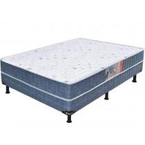 Cama Box Casal Conjugado 138x188cm - Umaflex Native Plus