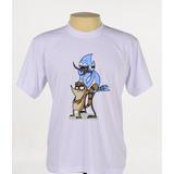 Camisa Camiseta Estampada Regular Show Série Desenho Animado