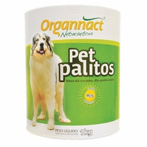 Pet Palitos Organnact 1kg - Pet Palito