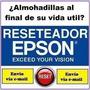 Reset Epson L100 L200 210 L350 L800 L1800 Error Almohadillas