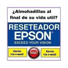 Reset Epson R290 Rx610 T40 Xp200 Xp201 Error Almohadillas