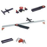 Regla Aluminio Linemaster Corte Medicion + Acces Kwb Germany