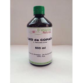 Óleo De Copaíba /balsamo Da Amazônia 500ml- Frete Grátis