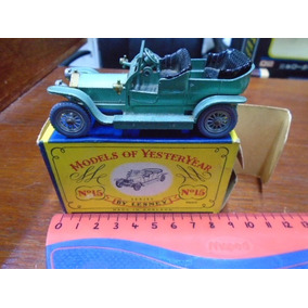 Matchbox Yesteryear Y15 Rolls Royce 1907 Impec C/caja