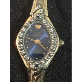 Reloj Jules Jurgensen Dama Diamond Quartz Envio Gratis