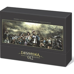 Dissidia 012 Deodecim Final Fantasy Soundtrack 3cd+1dvd Raro