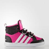 Niños Adidas Neo Hoops Animal Cmf Mid Inf