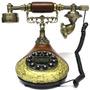 Aparelho De Telefone Antigo Mesa Retro Tecla Digital