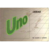 Libro-manual Fiat Uno Turbo Italiano - Original De Usuario