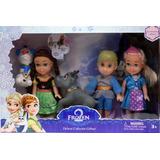 Bonecos Filme Frozen Baby 5 Anna Elsa Olaf Hans Sven