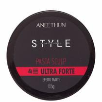 Aneethun Style Pomada Sculp Fixação Ultra Forte 65 G