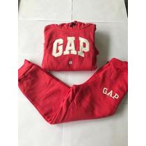 Moletom Gap Infantil De Frio Conjunto Blusa E Calca Tam 2-14