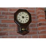 Reloj Americano Ansonia Año 1890 Funcionando!!!