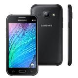 Celular Desbloqueado Samsung Galaxy J1 Duos Preto