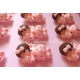 50 Lembrancinhas Maternidade/chá De Bebê Em Biscuit Imã