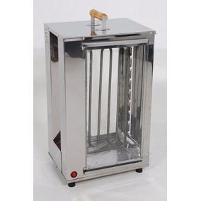Assador Eletrico Inox Para 20 Espetinhos, Giratoria (146)