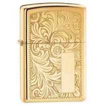 Glick Ar - Encendedor Zippo Venetian High Polish Brass 352b