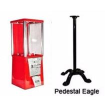 Maquina Chicles + Base Pedestal Chiclera Vending Eagle