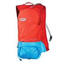 Mochila De Hidratacion Fox Oasis Capacidad 2 Lts. Roja.