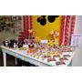 Maravilhosa Mesa Decorada Do Tema Minnie E Mickey - Lindos!