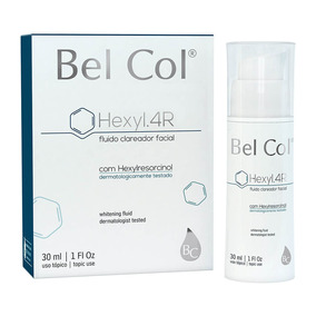 Fluido Clareador Facial Hexyl.4r - 30ml