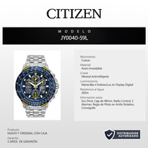 Reloj Citizen Skyhawk Blue Angels Eco Drive Jy0040-59l 60013
